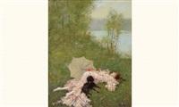 la sieste by ferdinand heilbuth