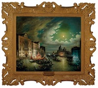 the grand canal, venice by calle leone