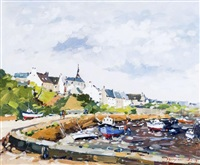 ile de croix, morbihan by guy legendre