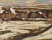 the bar x ranch, pincher creek, alberta by alexander young jackson
