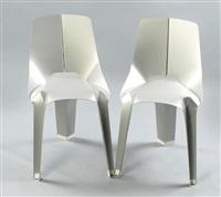 nature of material - chair (+ nature of material - chair; 2 works) by ran amitai