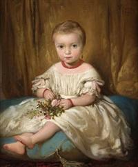retrato de niña by dionisio fierros