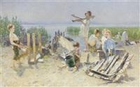 al fresco concert by karl hartmann