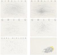 dirigerer sibelius, grieg, carl nielsen (complete portfolio of 6 works) by not vital