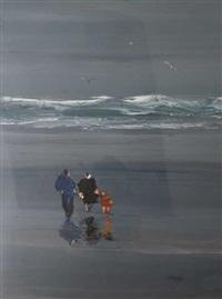sur la plage by christian sanseau