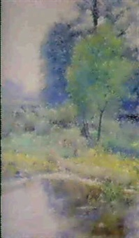 spring landscape by john ottis adams