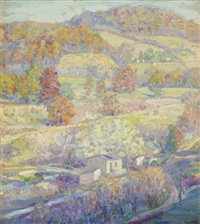 bucks county tapestry by samuel george phillips