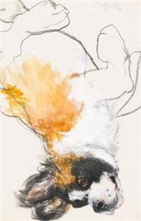 st. bernard, a playful study by neil forster