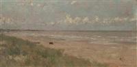 dutch coastal scene by david adolf constant artz
