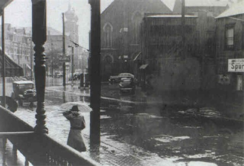 rain pittsburgh pennsylvania by john vachon