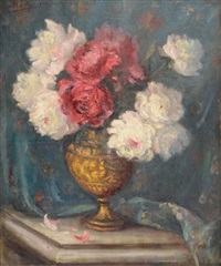 vase aux pivoines by louis via