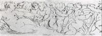 venus attended by putti by castello (niccolo) granello