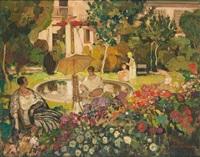 le jardin de l'artiste by fernand allard l'olivier