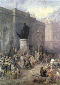 market morning, birmingham by frederick mercer