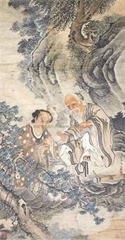 人物中堂 by jia quan