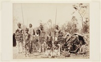 famille aborigène du queensland by henry king