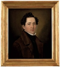 portrait eines jungen herrn by adalbert uetz