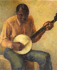 the banjo player by milvia w. boak