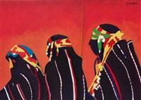trois femmes arabes by simon avissar