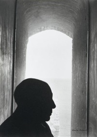 pablo picasso, antibes by denise colomb