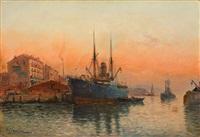 le port by jules vernier