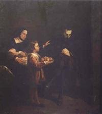 antonio pérez socorrido por su mujer by josé maria rodríguez de losada