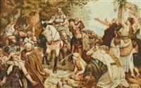 der triumpf des arminius nach der varusschlacht by karl großauer