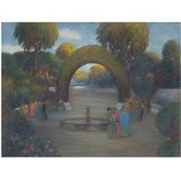 un paseo en el parque (promenade in the park) by ramón pichot girones
