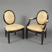 chairs (set of 10) by john hutton
