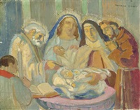 baptême de françoise le bihan by maurice denis