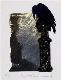 edgar allen poe (portfolio w/20 works) by ivor abrahams