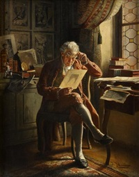 the print collector by johann hamza