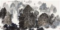 山水 by lei zhengmin