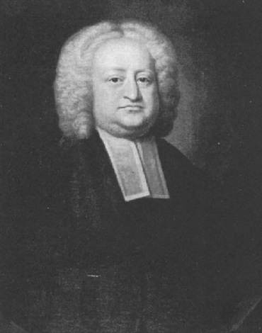 portrait of rev mr james adams rector of bibington cheshire by james fellowes
