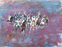 cavaliers de fantasia by hassan el glaoui