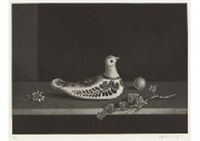 nature morte a la colombe mexicaine by hasegawa kiyoshi