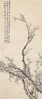 梅花图 (plum blossom) by xiang wenyan