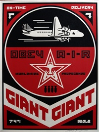 obey air by shepard fairey
