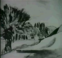 paesaggio by emilio sobrero
