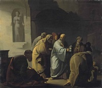 diogenes searching for an honest man by willem de poorter