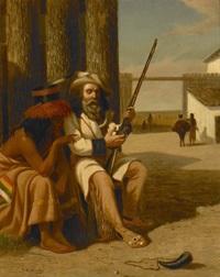 conference in a stockade by william de la montagne cary