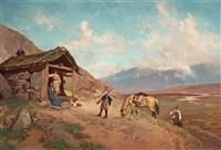 besök på hyttet by axel ender