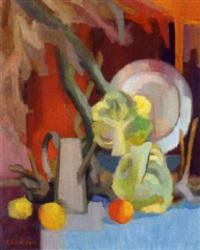 stilleben mit früchten by elfy haindl-lapoirie