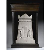 the stuart monument (model) by adamo tadolini