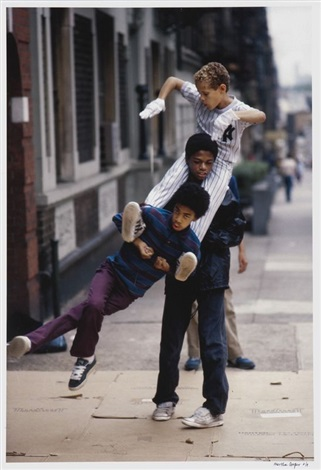 man stack of b boys by martha cooper