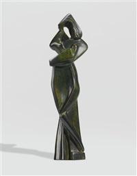 standing figure, statuette (femme debout) by alexander archipenko