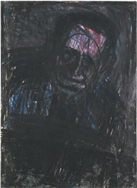 self portrait by leon kossoff