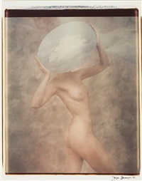 cloud woman (+ angel with lit wings; 2 works from transformations) by joyce tenneson