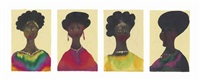 untitled (in 4 parts) by chris ofili