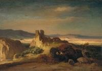 südliche landschaft by august löffler